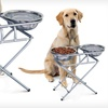 Three-Stage Adjustable Dog Feeder