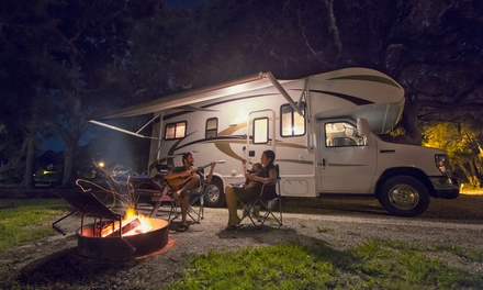 East Sussex: 2- or 3-Night Stay at Camping Pitch for 2 Adults and 2 Children at Meadowview Park