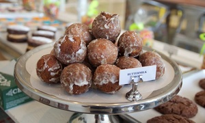 Buttermilk Drop Bakery: $15 for 3 Groupons, Each Good for 12 Buttermilk Drops or Donuts at Buttermilk Drop Bakery ($24 Value)