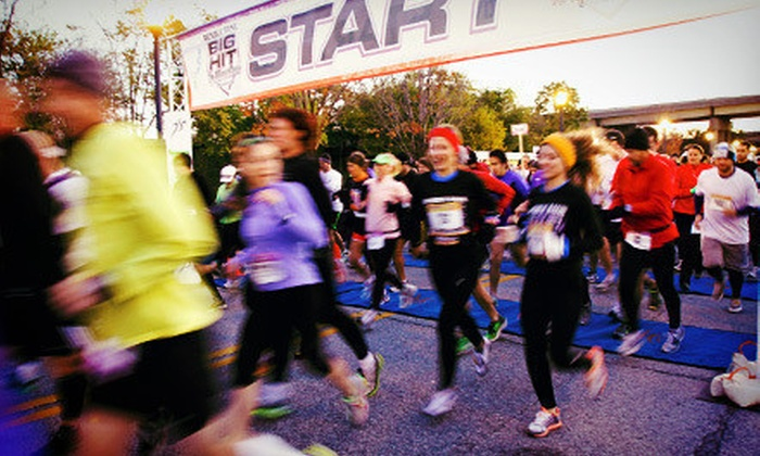 Republic Bank Big Hit Marathon - Central Business District: Republic Bank Big Hit Marathon Quarter- or Half-Marathon Race (Half Off)