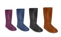 GROUPON: Dawgs Women's Tall Faux Shearling Lined Boots Dawgs Women's Tall Faux Shearling Lined Boots