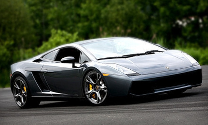 Gotham Dream Cars - Miller Park: $99 for a High-Speed Drive in a Ferrari or Lamborghini from Gotham Dream Cars ($249 Value)