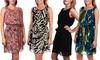 Women's Printed Chiffon Summer Dresses: Women's Printed Chiffon Summer Dresses