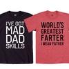 Men's Dad Graphic Tees