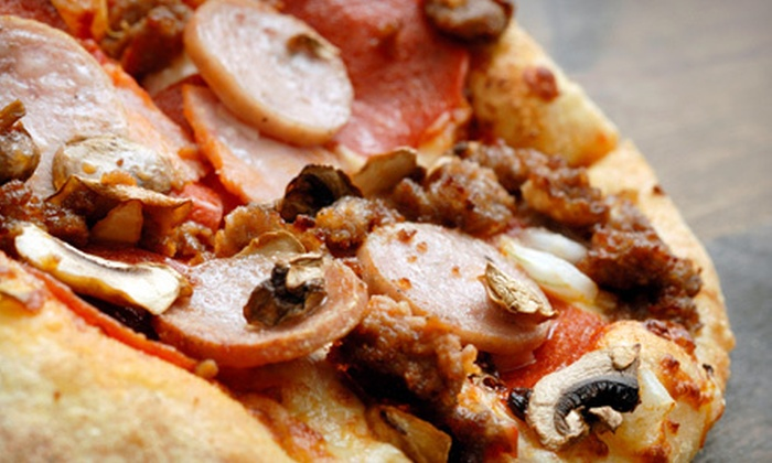Pizza for U - Multiple Locations: $15 for $30 Worth of Pizza and Sandwiches at Pizza for U. Choose From Six Locations.