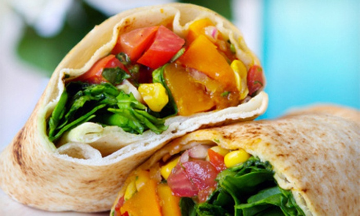 The Pita Pit - Multiple Locations: Two or Four Make-Your-Own Pitas at The Pita Pit (Up to Half Off)