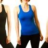 10-Pack of Ladies' Seamless Tank Tops