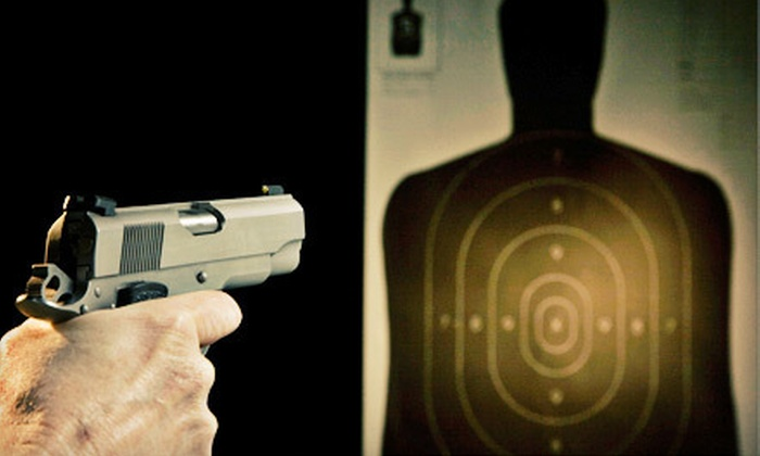 Action Impact Range - Southfield: Shooting-Range Outing for Two or Four at Action Impact Range in Southfield (Up to 54% Off)
