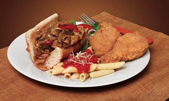 Brown's Chicken - Brown's Chicken: $13 for $20 Worth of Chicken, Chicago-Style Sandwiches, and Pasta at Brown's Chicken