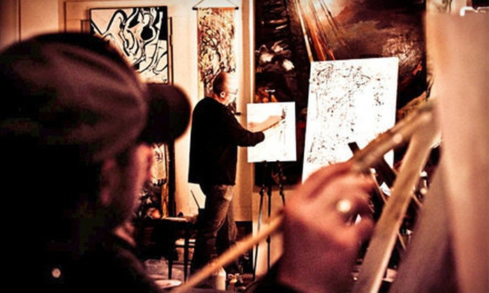 Colors & Bottles - Multiple Locations: Painting Class for One or Two Hosted at a Local Venue from Colors & Bottles (51% Off)