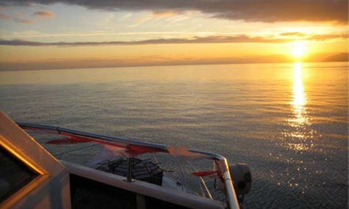 Accent Cruises - Vancouver: Sunset Dinner or Continental Brunch Cruise for One or Two from Accent Cruises (Up to 56% Off)