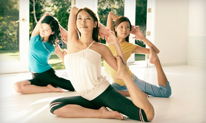 """Dahn Yoga - Multiple Locations: Yoga Classes and Screening of """"Change: The LifeParticle Effect"""" on June 23 at Dahn Yoga (Up to 76% Off)"""