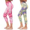 Women's Lava-Print Active Leggings (3-Pack)