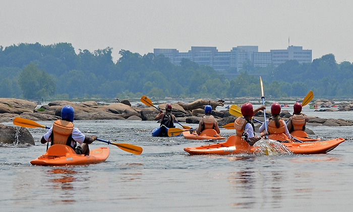 Riverside Outfitters - Richmond: Guided James River Kayaking Trip for One or Two from Riverside Outfitters (Up to 49% Off)
