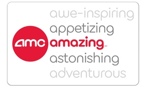 $25 Voucher to AMC Theatres + 10% Back in Groupon Bucks   at AMC Theatres, plus 6.0% Cash Back from Ebates.