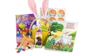 Birthday in a Box: $15 for One Personalized Easter Basket from Birthday in a Box ($30 Value)