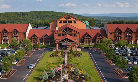 Stay with Water Park Passes and Resort Credit at Great Wolf Lodge Pocono Mountains in Pennsylvania. Dates into July.