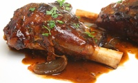 Two course Welsh Fayre for Two or Four People at Langostinos Brasserie (55% Off)