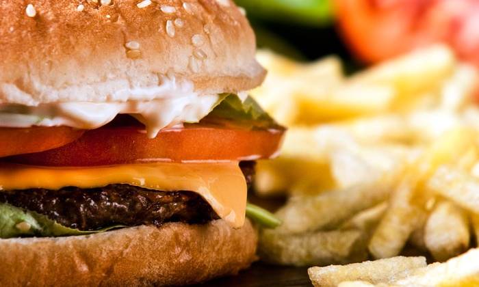 Burger Bank - Evansville: $5 for $10 Worth of Burgers and Other American Food at Burger Bank