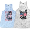 Women's Fourth of July Tanks