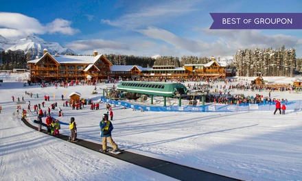 Winter Activities at Lake Louise Ski Resort (50% Off). Eight Options Available.