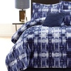 Printed Micromink Oversized Comforter Sets (6-Piece)