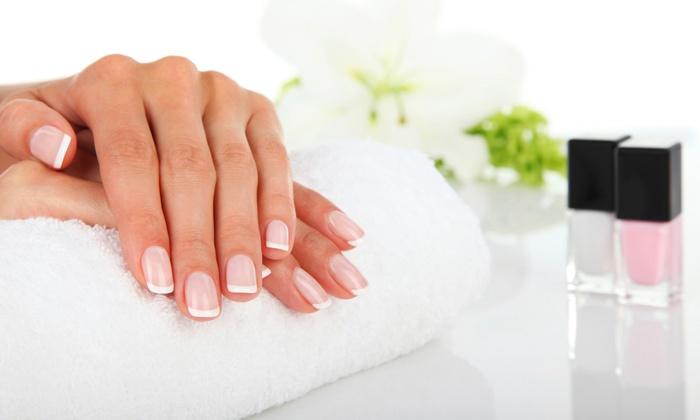 Sorelle Spa Salon - Fisher's Village: Rosemary-Mint Pedicure or Manicure at Sorelle Spa Salon (Up to 43% Off)