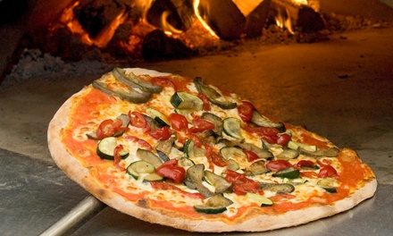 Italian Food for 2 or More at Original Presto's Brick Oven Pizza & Pasta (Up to 50% Off). 3 Options Available.