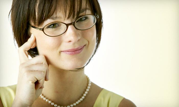 M & J Optical Inc - Jackson Heights: $45 for an Eye Exam and $150 Toward Eyewear at M J Optical