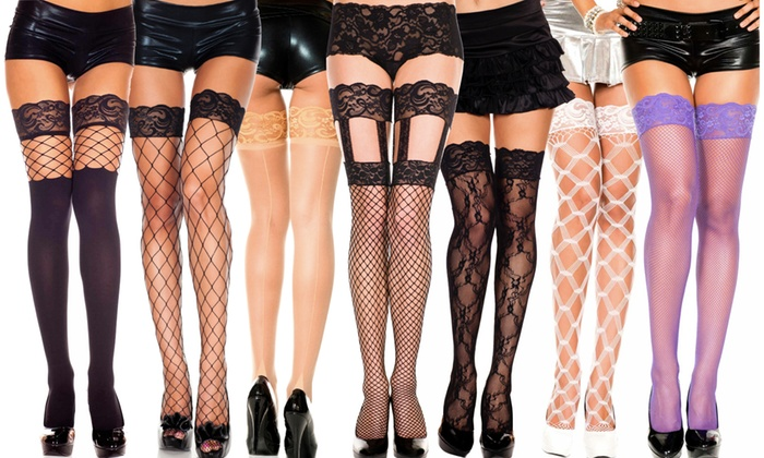 681b0ae6c Women's Thigh-High Hosiery | Groupon Goods