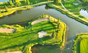 Carstairs Golf Club: 18 Holes of Golf for Two or Four with Cart Rental, Range Balls, and Drinks at Carstairs Golf Club (Up to 55% Off)