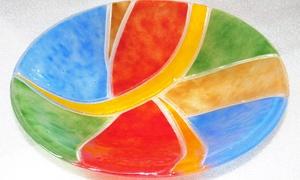 Blickfang Das Glaskunst Atelier: 4-stündiger Fusingglaskunst-Workshop für 1 oder 2 Person bei Blickfang Das Glaskunst Atelier ab 59,90 €