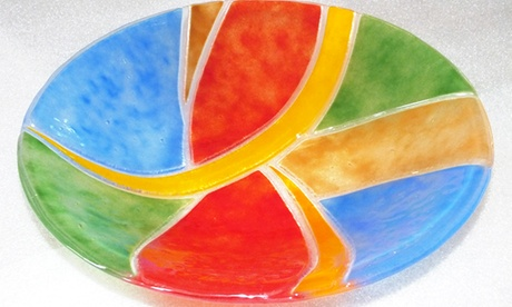 4-stündiger Fusingglaskunst-Workshop für 1 oder 2 Person bei Blickfang Das Glaskunst Atelier ab 59,90 €