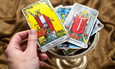 Psychic and Tarot Card Readings for One or Two (Up to 71% Off)