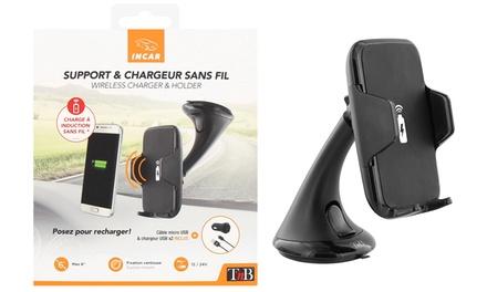 Supporto auto e caricatore wireless