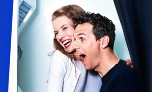 ShutterBox Entertainment: $155 Off Classic Photo Booth Rental  with Purchase of $850 or More at ShutterBox Entertainment