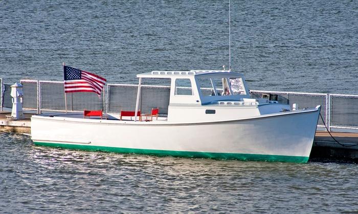 Classic Boat Charleston, LLC - Mount Pleasant: Cruises from Classic Boat Charleston, LLC (Up to 52% Off). Three Options Available.