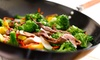 Mongolian Wok & Sushi Bar - Arboretum: $8 for $16 Worth of Asian Cuisine for Two or More at Mongolian Wok & Sushi Bar