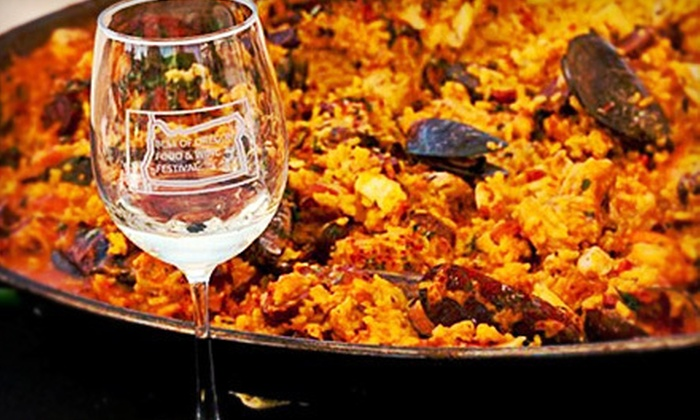 The Best of Oregon Food & Wine Festival - Chehalem Mountains: $45 for Best of Oregon Food & Wine Festival for Two on August 4 (Up to $90 Value)
