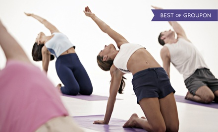 Five Classes or One Month of Unlimited Classes at The Barkan Method of Hot Yoga (Up to 69% Off)