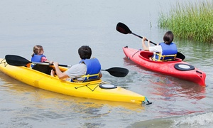 EMS Schools: Recreational Kayak Rental for One or Tandem-Kayak or Canoe Rental for Two from EMS Outdoor Schools (56% Off)