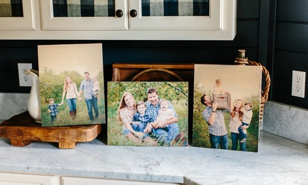 Custom Prints on Wood from PhotoBarn (Up to 75% Off). Three Options Available.