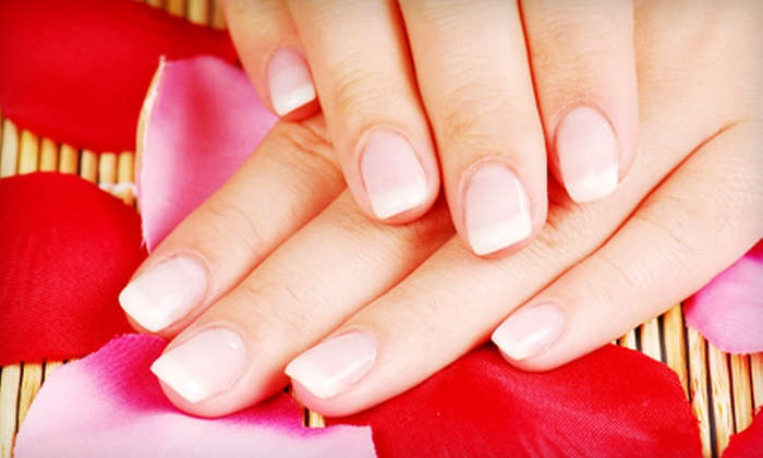 Century Nails and Tan - Llanfair: VIP Manicure or VIP Pedicure at Century Nails and Tan (Up to 54% Off)