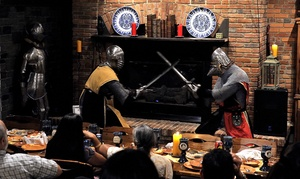 John Strongbow's Tavern: Tavern Dinner or Medieval Madness Dinner Show at John Strongbow's Tavern (Up to 50% Off)