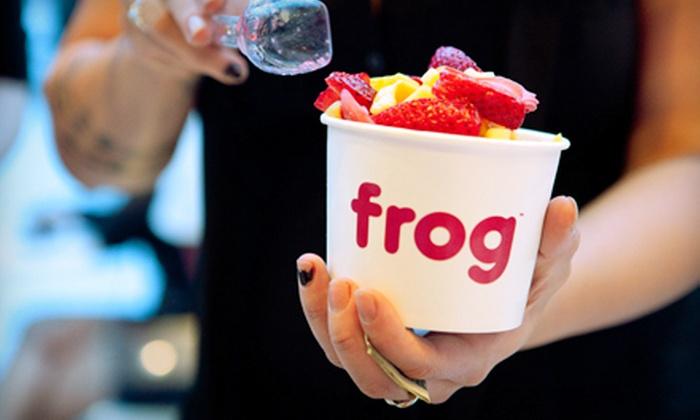 Frog Frozen Yogurt Bar - Hollywood,Yucca Corridor: $10 Worth of Frozen Yogurt
