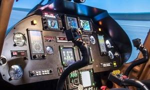 Sim Power Fly S.r.l.: Simulazione di volo nell'elicottero dimesso Agusta A109 da 30 o 60 minuti con Sim Power Fly (sconto fino a 57%)
