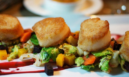 Upscale American Lunch or Dinner for Two or More at Youssef 242 (40% Off)