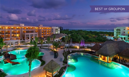 4-, 5-, or 7-Night All-Inclusive Stay for Two with Golf Clinic at Paradisus Playa del Carmen La Esmeralda in Mexico