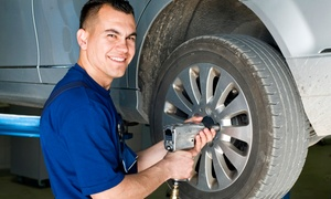 Meineke Car Care Center - Pflugerville: $45 for a Four-Wheel Alignment Service at Meineke Car Care Center - Pflugerville ($89 Value)