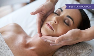 The Healing Path: Custom Signature Facial or Microcurrent Light-Therapy Facial at The Healing Path (Up to 52% Off)